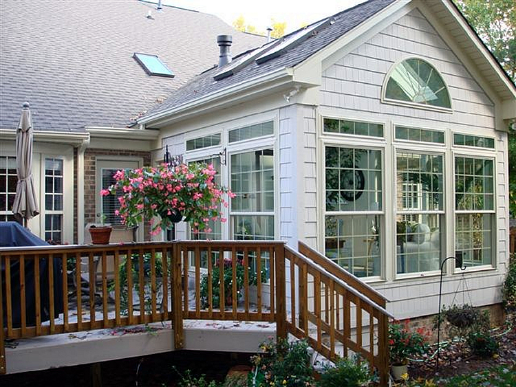 how do i convert my screened porch into