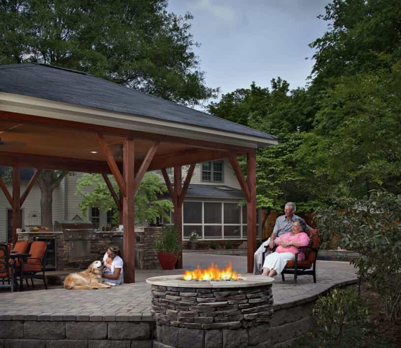 custom patio builders in northwest