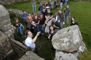 On site teaching on Hadrian's Wall