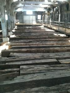 Remains of the Namur. Photo: M Symonds