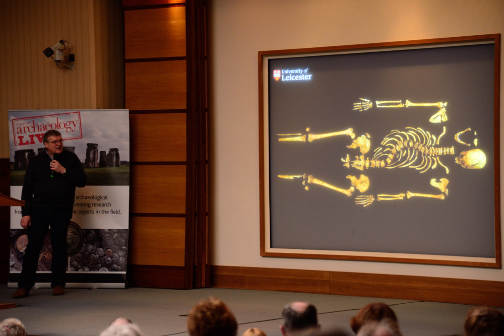 Richard Buckley of University of Leicester Archaeological Services (ULAS) gives a talk on how his team discovered Richard III, and the archaeology behind it, during the CA Live! conference in 2013.