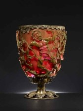 The displays include famous objects from the old Room 41, such as the Late Roman Lycurgus Cup.