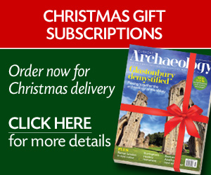 Current Archaeology Christmas subscriptions