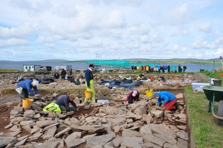 Ness of Brodgar [Photo Credit: UHI Archaeology Institute]