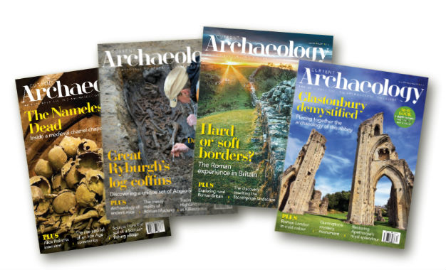Fan of Current Archaeology covers