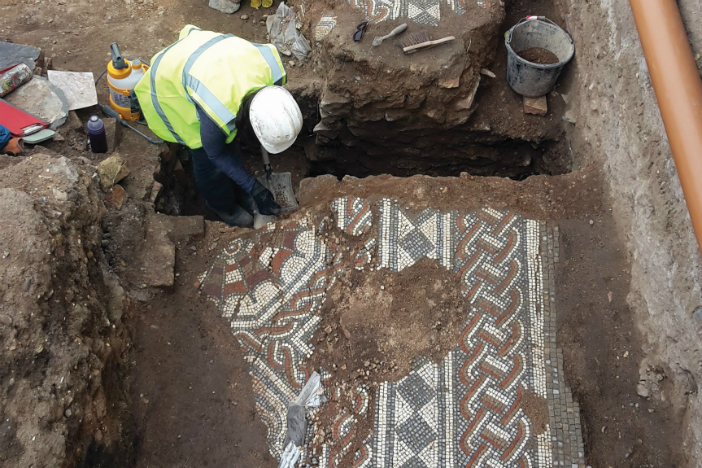 Leicester's Roman high life