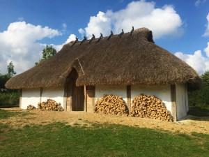 Anglo-Saxon longhouse at Butser