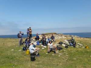 In 2019, we will further investigate the settlement and associated shell middens which will provide significant insight into community life in the west of Ireland