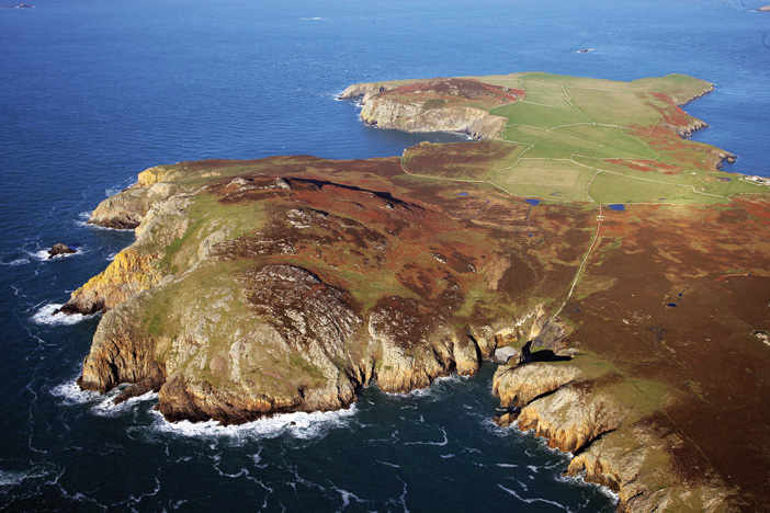 Revealing the archaeology of Ramsey Island