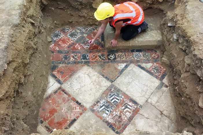 Underneath the abbey: Uncovering more than 1,000 years of religious life in Bath