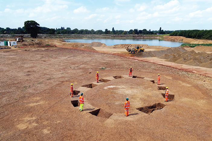 The last piece of the puzzle: digging the final section of Datchet's causewayed enclosure