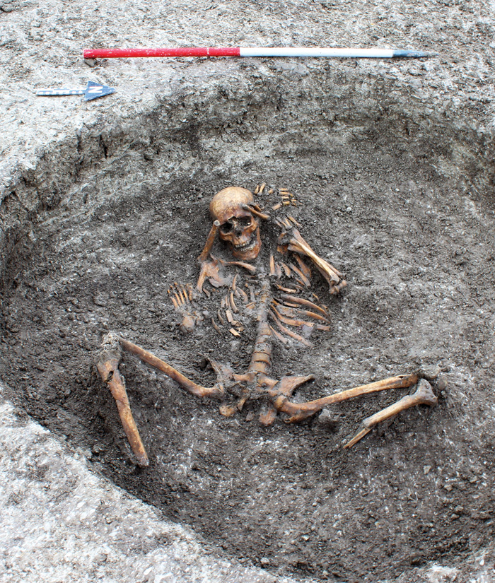 Unusual Iron Age burial uncovered at Childrey