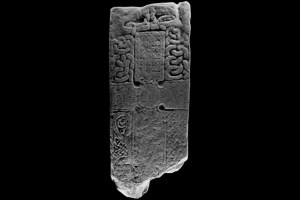 Pictish-stone---cross-side