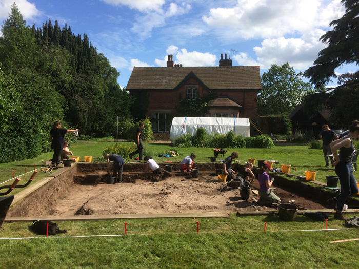 Recent excavation at Repton