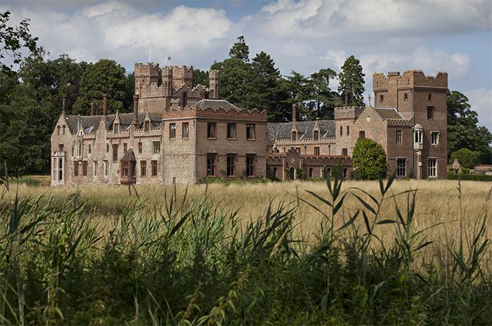 A photograph of Oxburgh Hall