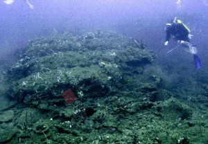 Figure 9. Main part of the wreck