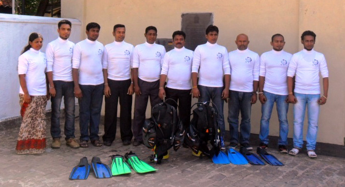 Galle Maritime Archaeology Unit - Research Team