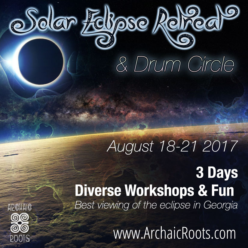 Solar Eclipse Retreat- Drumming The Sacred Masculine & Divine Feminine