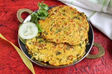 Maharashtrian Kakdi Thalipeeth Recipe by Archana's Kitchen