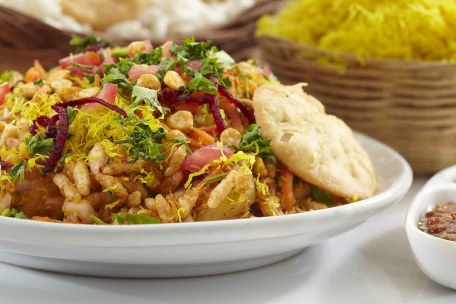 Bhel Puri Recipe - Indian Street Food And Tea Time Snack by Archana's  Kitchen