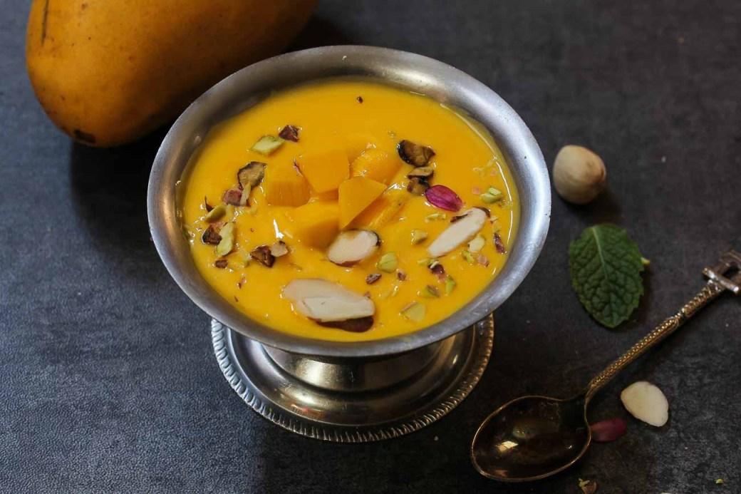 Image result for mango phirni