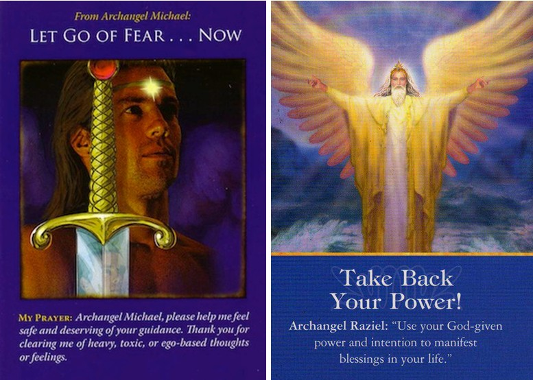 Energy Reading for this week from Archangel Michael and Raziel : Let go of fear and stand in your Power Now!