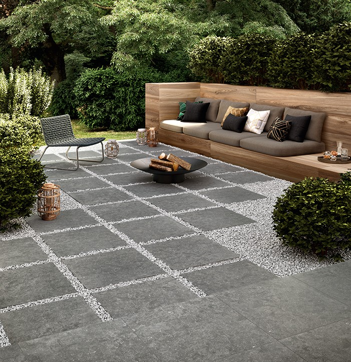 how to install porcelain pavers