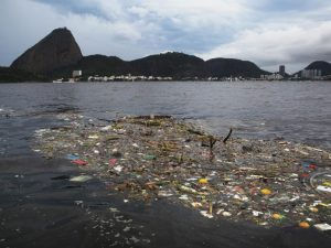 Guanabara bay sewage still an issue for Olympics.