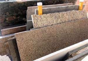 discounted leftover granite slabs for