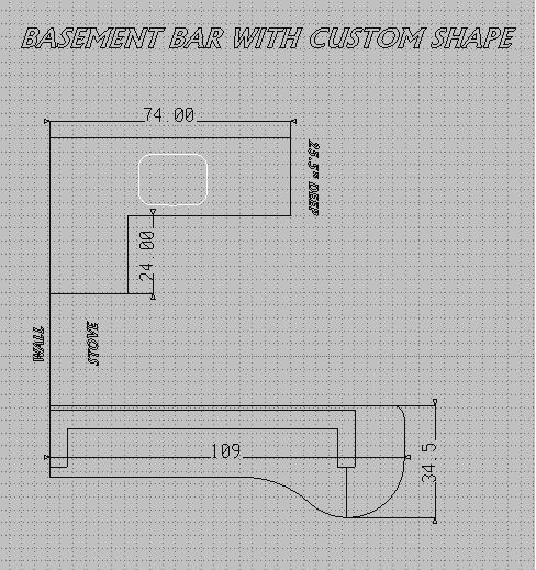 Countertop Square Footage Calculator