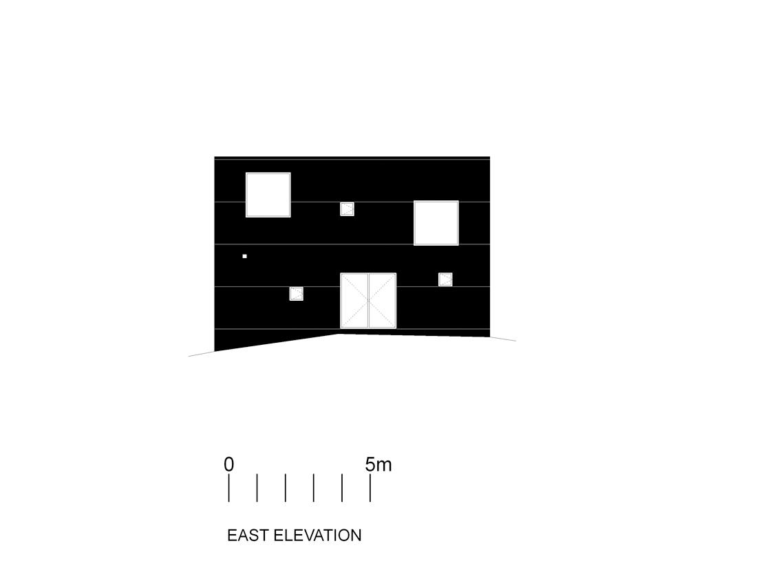 poli-elev-e east facade