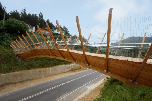 Pedestrian Bridge in Zapallar