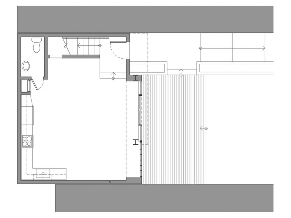 2145Powell_CtYd-Unit_Level1_FloorPlan plan 01