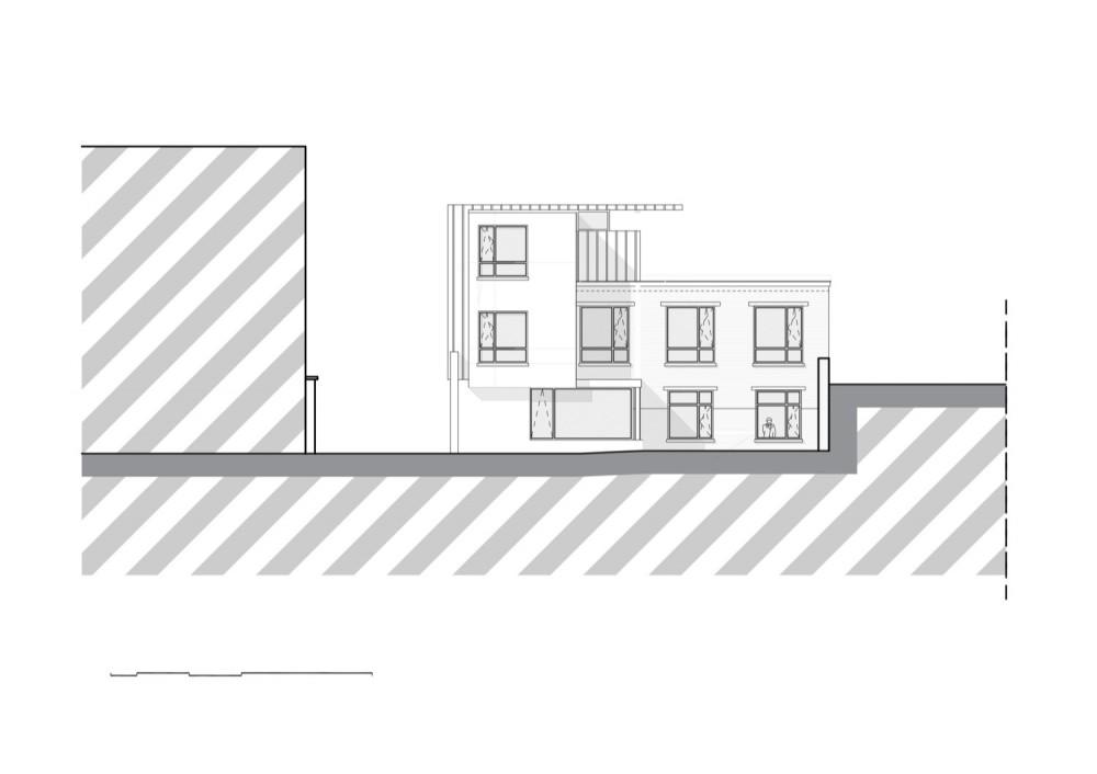 Franken House - Bekhor Architecte elevation 01