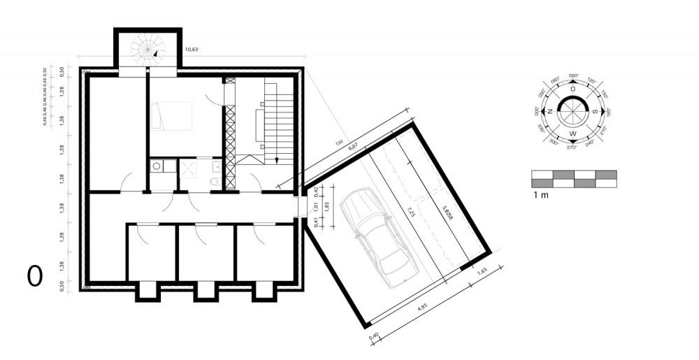 House - Topoi Engelsbrand - Office for Architecture Stocker ground floor plan