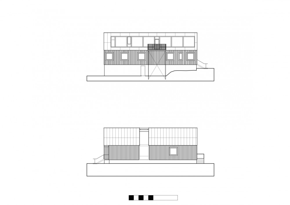 Plastic House - Unit Arkitektur AB elevations