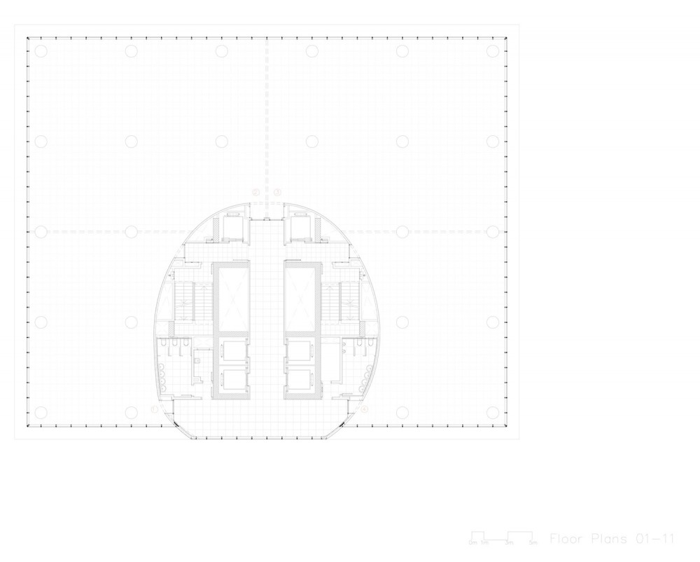 www.plataformaarquitectura office tower floor plan 3