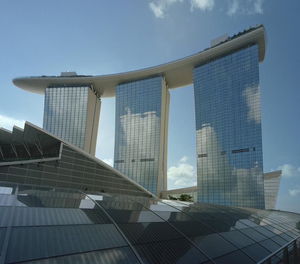 Singapore - Hotel - Marina Bay Sands - Safdie Architects © Courtesy of Safdie Architects