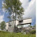 Houle-Thibault Residence - Chevalier Morales Architectes © Marc Cramer