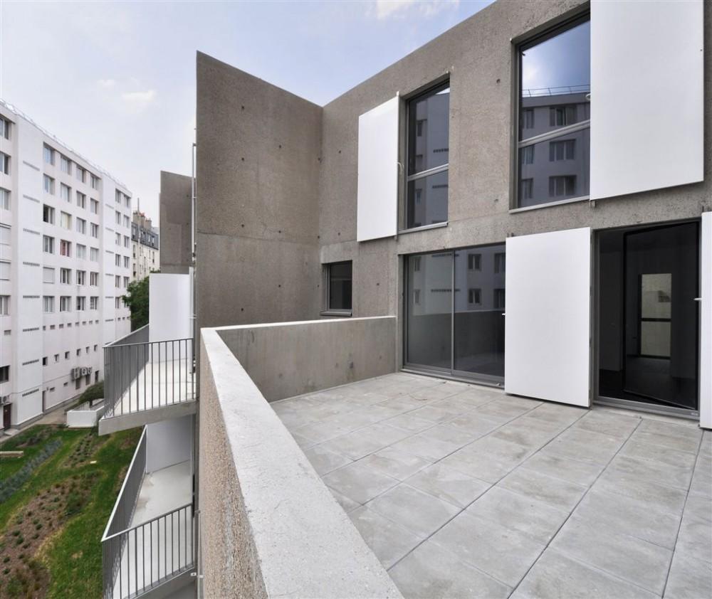 Social Housing in Paris - Frédéric Schlachet Architecte © Frédéric Schlachet