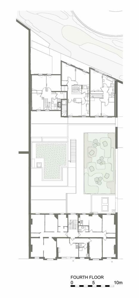 fourth floor plan fourth floor plan