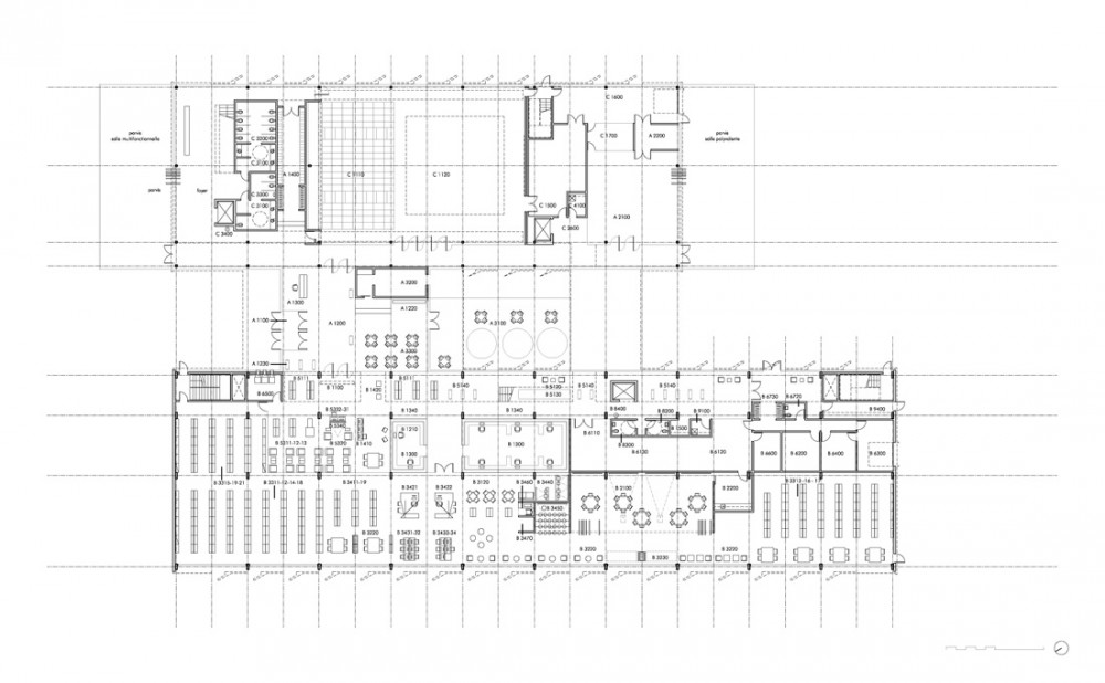 CMA_NDG_04_Ground_Floor Courtesy of Chevalier Morales Architectes
