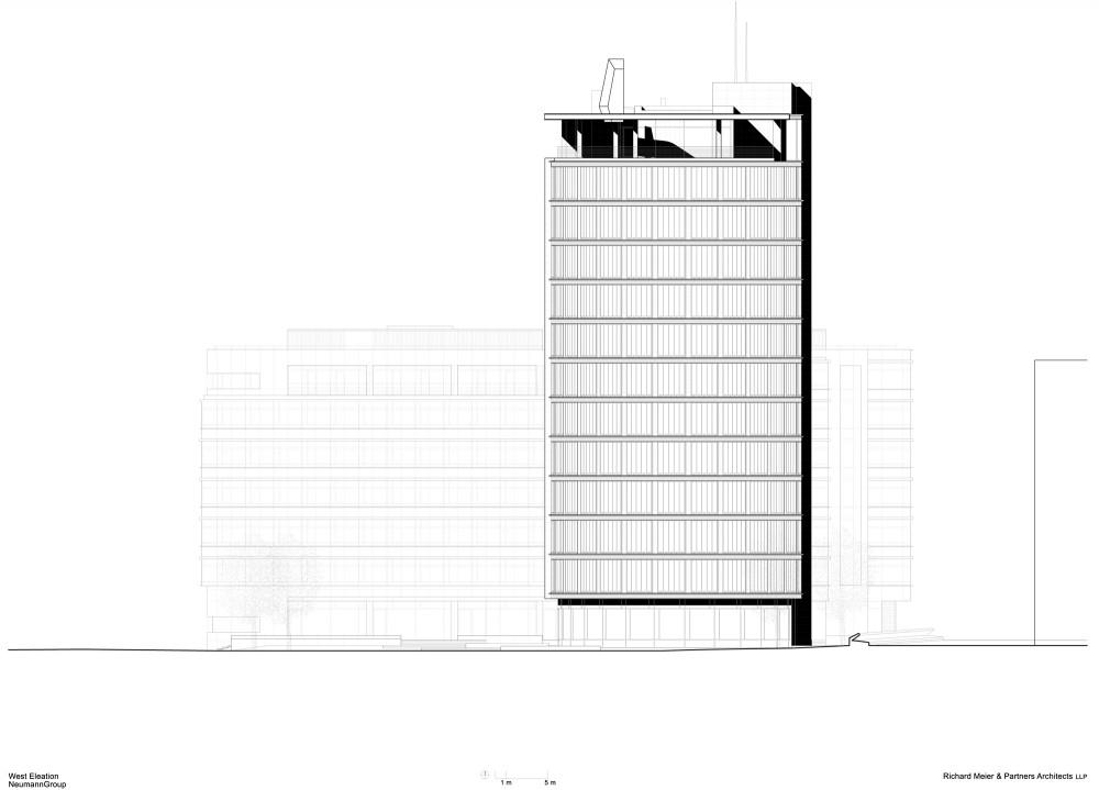 International Coffee Plaza / Richard Meier & Partners (17) section 01