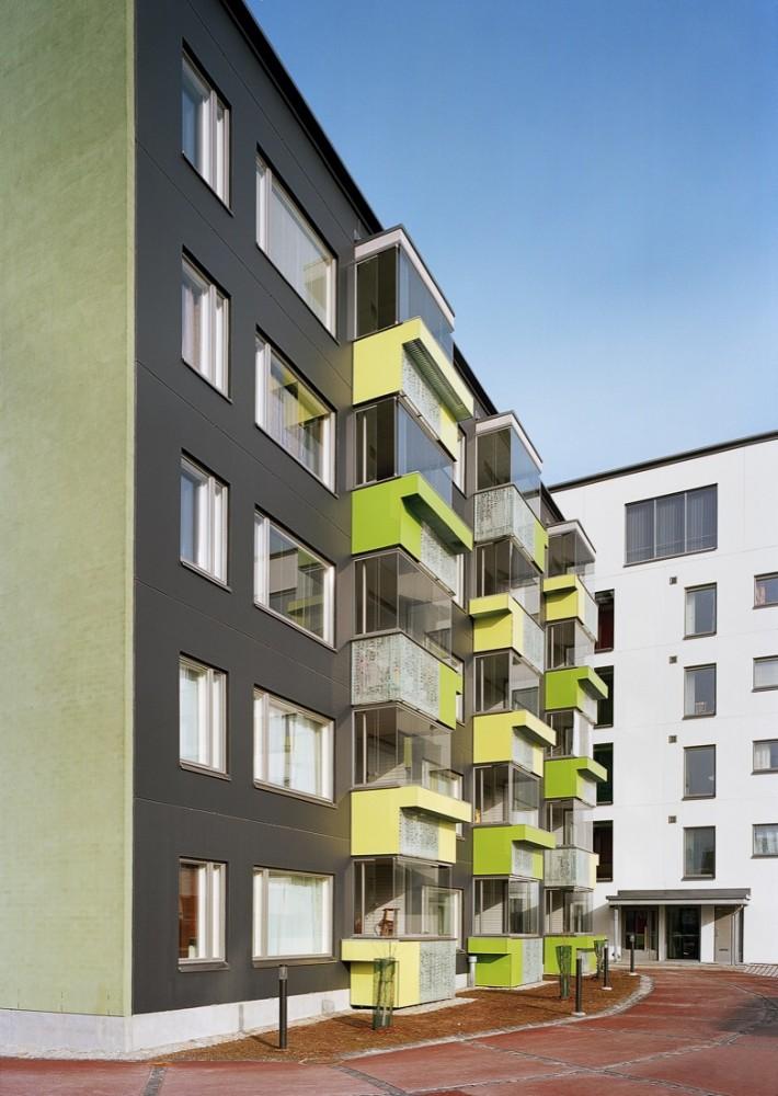 Muurikuja 1 Housing / ARK-house Architects © Jussi Tiainen