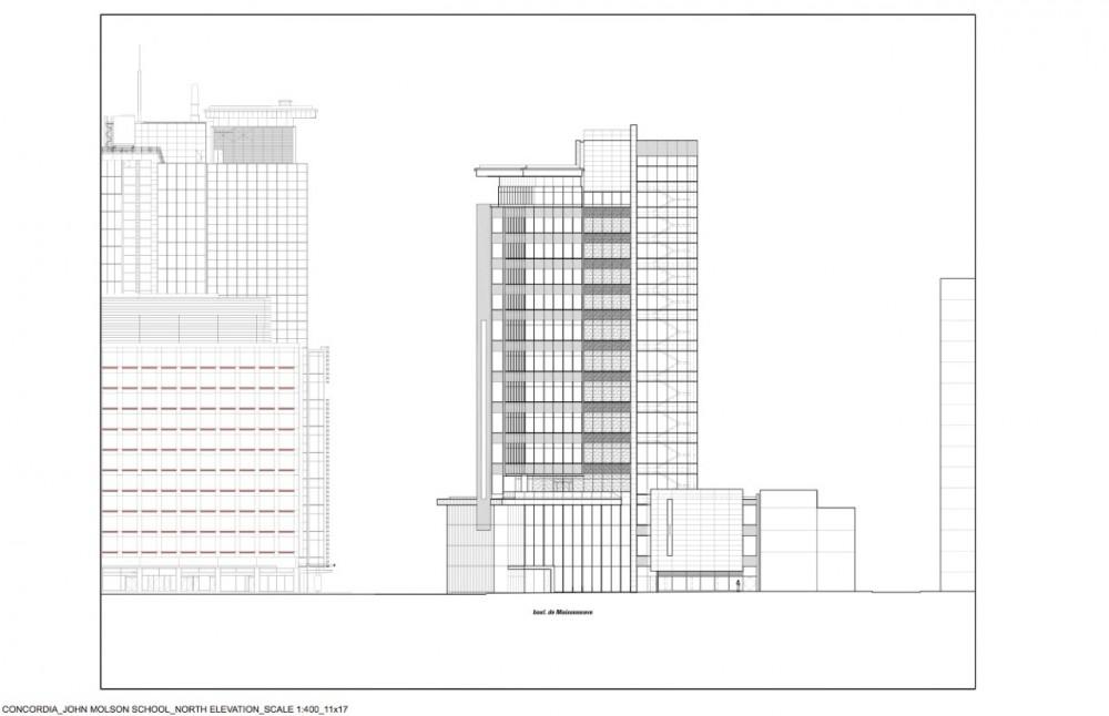 elevation © KPMB Architects elevation © KPMB Architects