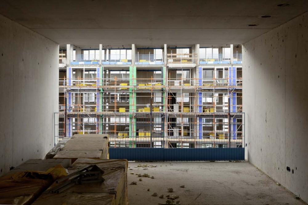 In Progress: E Tower / Wiel Arets Architects © Jan Bitter