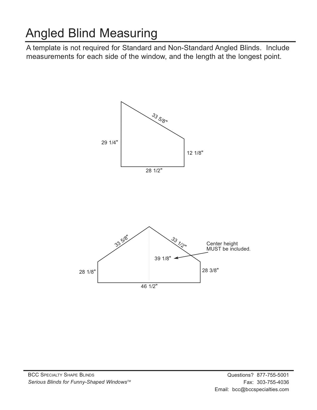 Measure Amp Template Instructions