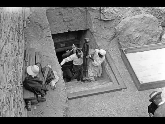 Uno dei duemila oggetti del tesoro di Tutankhamon