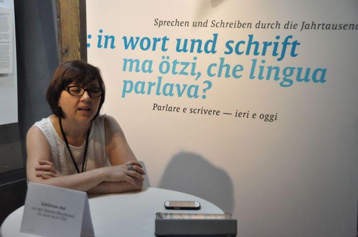 Exhibition chat with Simona Marchesini