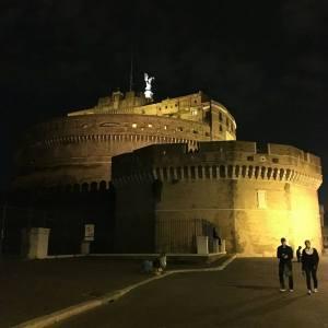 il fascino di Castel Sant'Angelo
